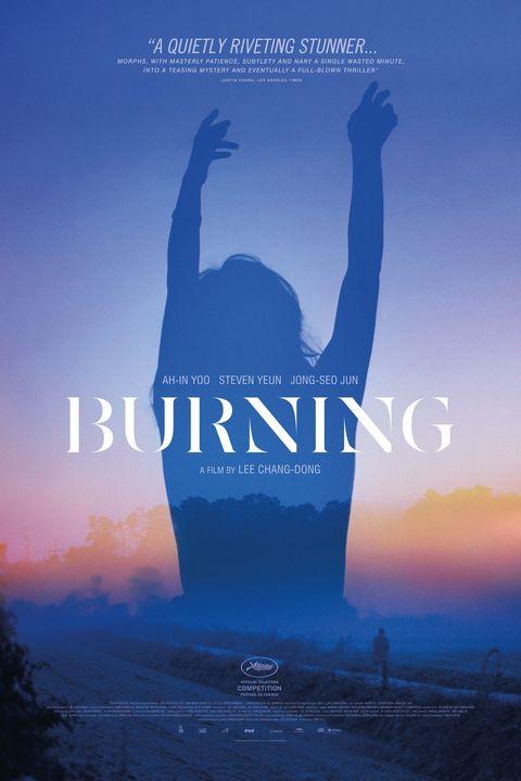 burning 2018 movie poster