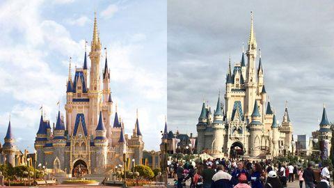 Spire, Cloud, Tourism, Landmark, Walt disney world, World, Steeple, Place of worship, Holy places, Tourist attraction,