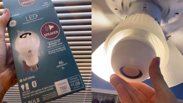 speaker light bulb