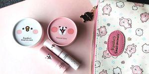 P助小雞,蜜粉餅,7-11,卡娜赫拉的小動物,彩妝