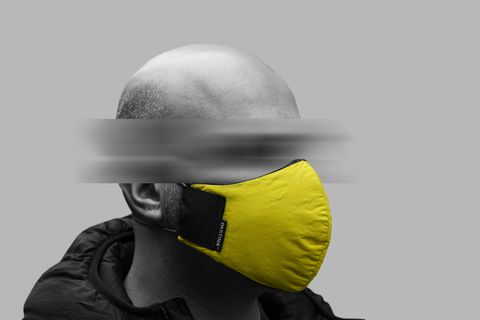 Yellow, Helmet, Personal protective equipment, Headgear, Fashion accessory, Hat, Cap, Photography,