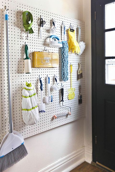 Laundry Room Pegboard