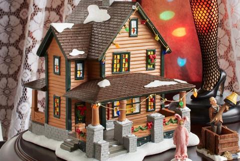 A Christmas Story Ceramic Village