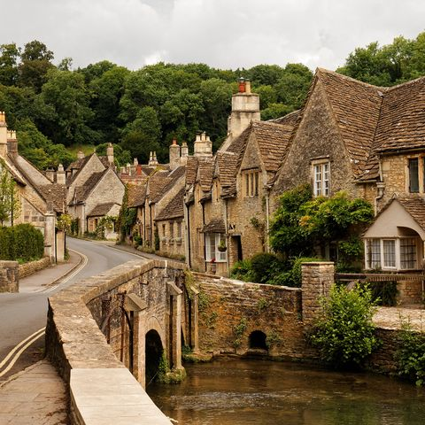 Tranquil villages in the UK