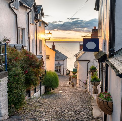 Most tranquil streets in the UK