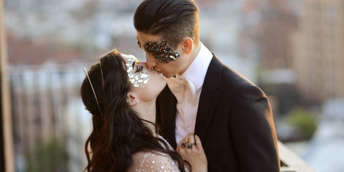 Kimmy Scotti And Adam Metzger S Halloween Wedding Inside The