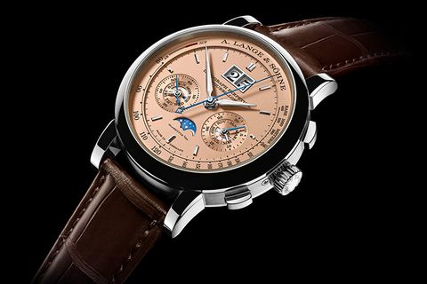 A Lange & Sohne Datograph Perpetual Tourbillon with Salmon Dial
