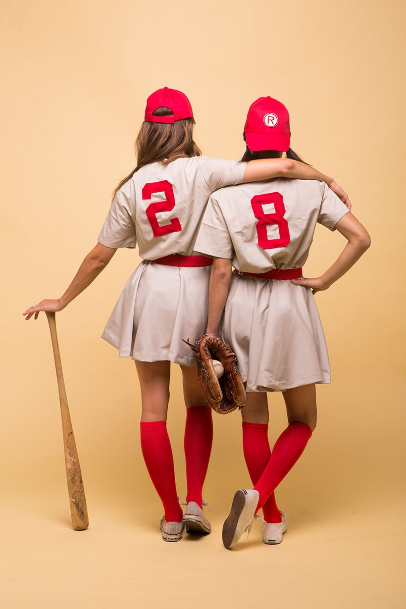 a league of their own friend halloween costumes & 15 Best Friend Halloween Costumes - DIY Matching Costumes for Friends