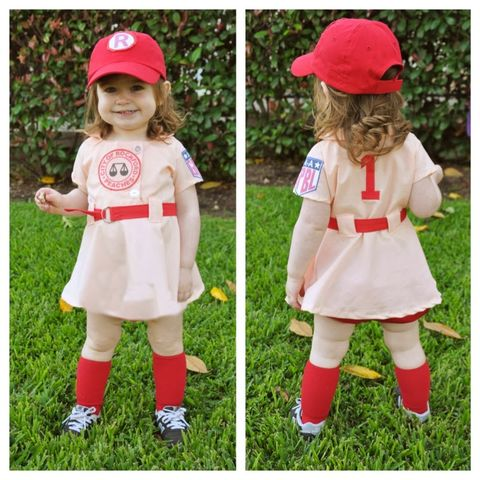 a league of their own toddler costume