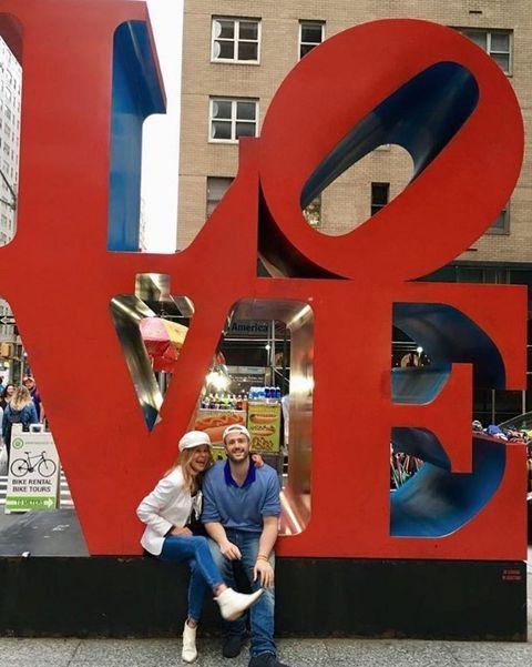 Red, Blue, Architecture, Art, Font, Fun, Sculpture, Smile, World, Signage,