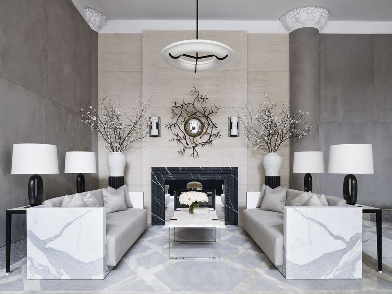 fabric interiors top ny interior designers A-List Interior Designers From ELLE Decor - Top Designers For Home Interiors