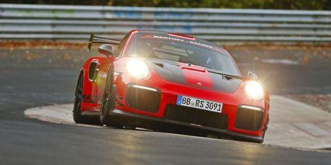 ポルシェ「911 GT2 RS MR」が公道車最速記録を樹立@ニュルブルクリンク