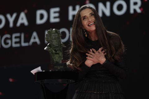 Ángela Molina recoge el Goya de Honor 2021: