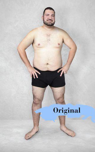 cuerpo ideal en 19 paises gracias a photoshop