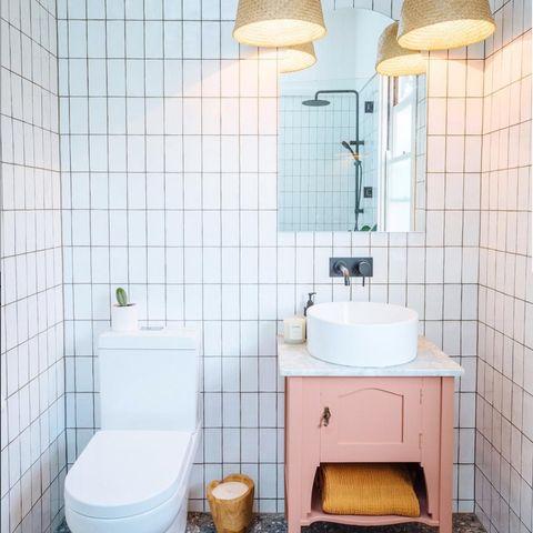 Cómo sacarle todo el partido a un baño pequeño - Cómo decorar un ...