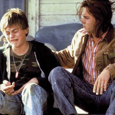 """Leo DiCaprio y Johnny Depp en """"¿A quién ama Gilbert Grape?"""""""