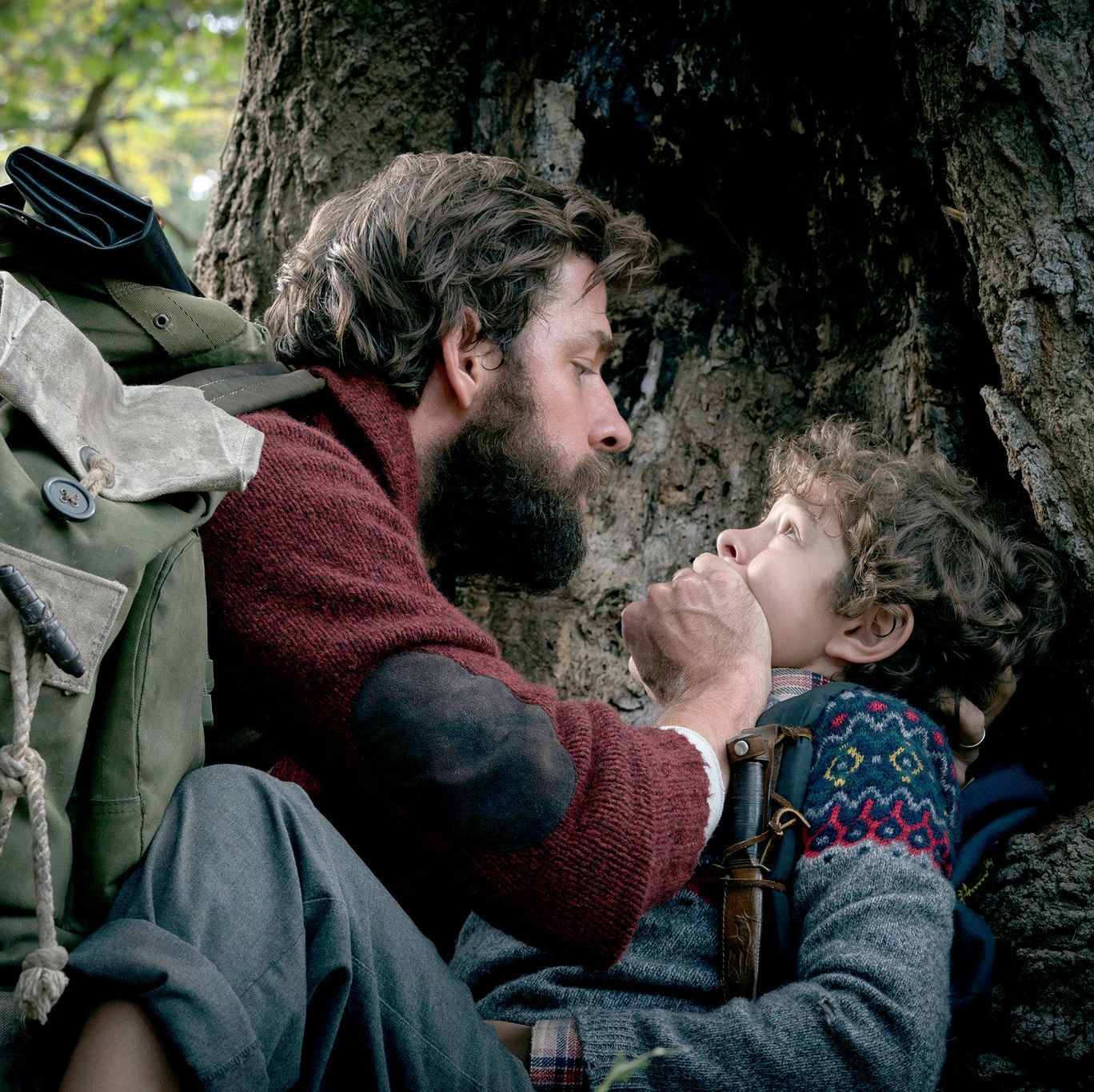 A Quiet Place A family (led by John Krasinski and Emily Blunt) silently navigate a post-apocalyptic world, stalked at every turn by monsters that hunt their prey with a supercharged sense of hearing.