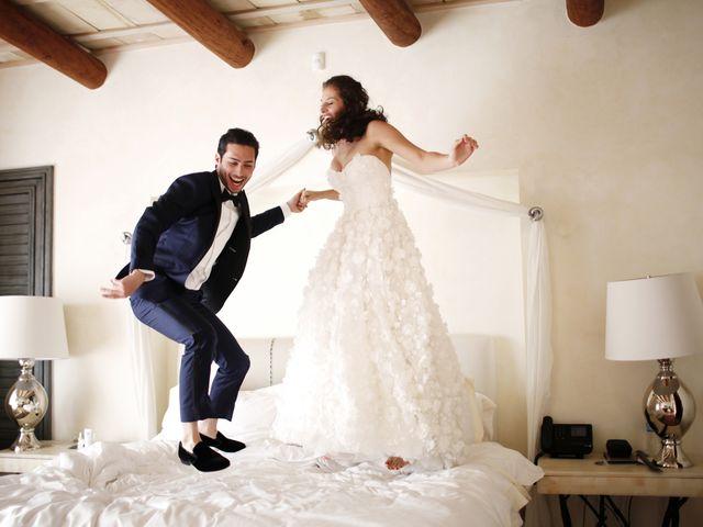 da6116df1ef Technicolor Dreams  Amirah Kassem and Ross Harrow s Multicolor Wedding in  Mexico