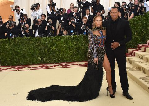 Met gala theme 2018 best and worst dressed men of the red carpet alex rodrigues and jennifer lopez at the met gala altavistaventures Images