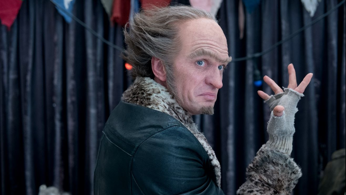 Image result for count olaf netflix laughing