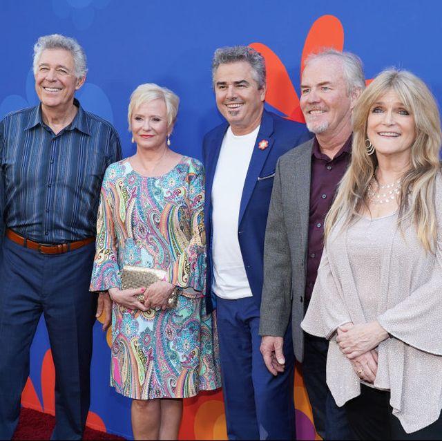 """HGTV """"A Very Brady Renovation"""" Cast - The Brady Bunch Kids and HGTV Star Hosts"""