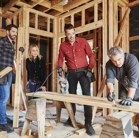 """HGTV """"A Very Brady Renovation"""" with """"The Property Brothers"""" Drew and Jonathan Scott"""