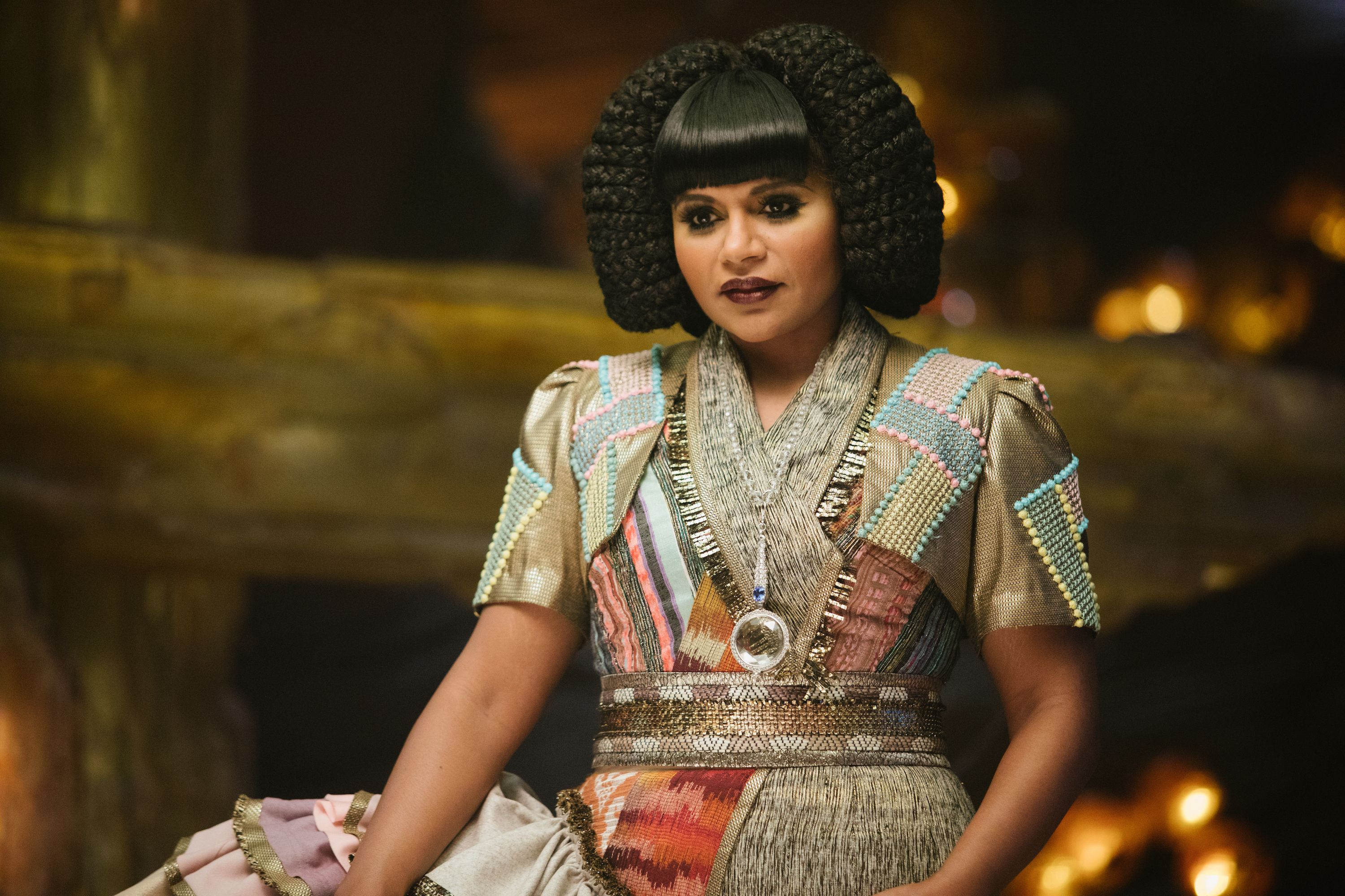 Mindy Kaling as Mrs. Who in A Wrinkle in Time