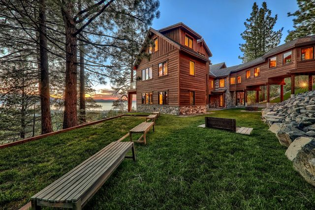 the lake tahoe home the kardashians rented for the keeping up with the kardashians finale