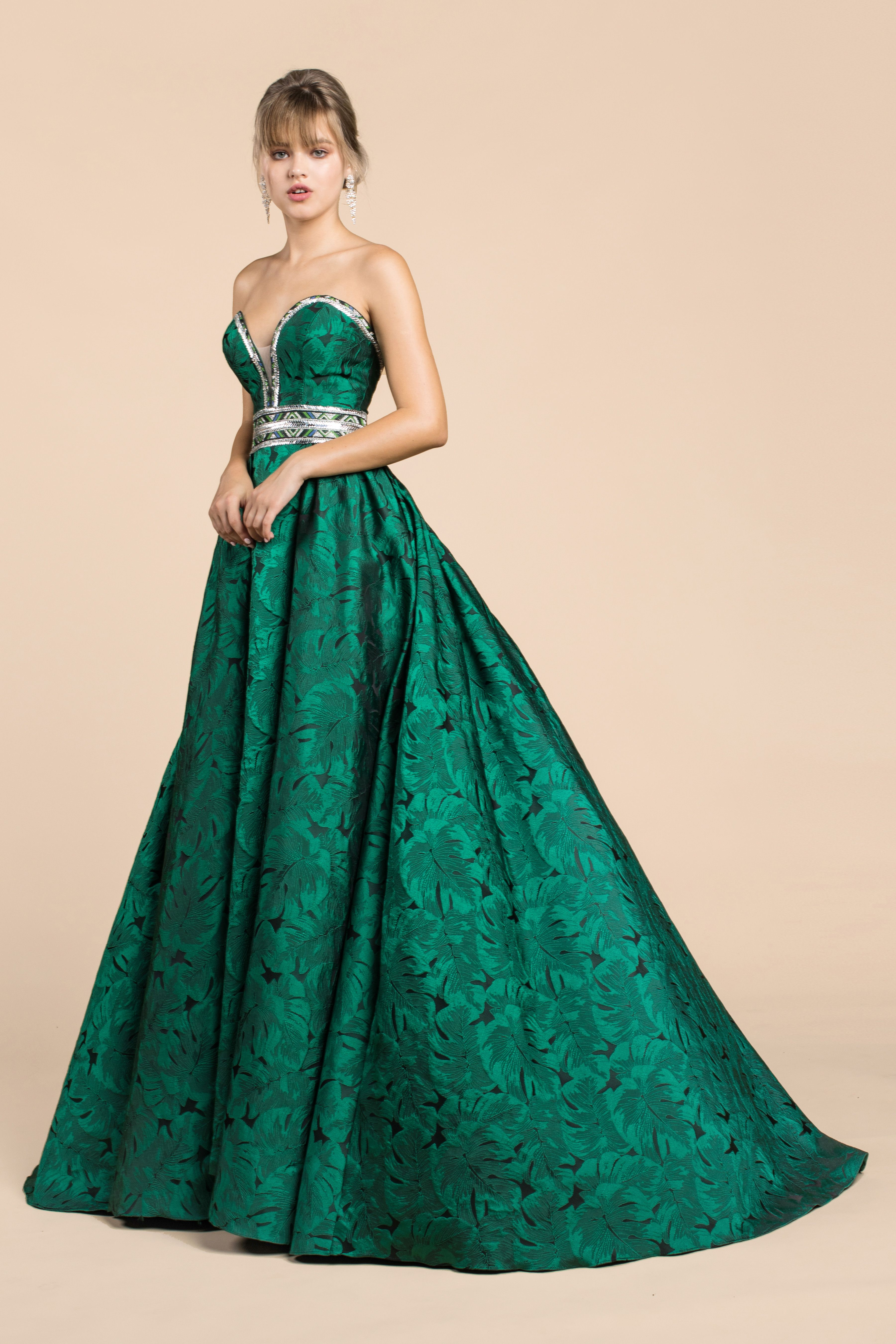 Emerald Green Goddess Dress