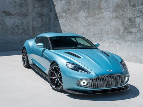 2018 Aston Martin Vanquish Zagato For Sale On Ebay Motors