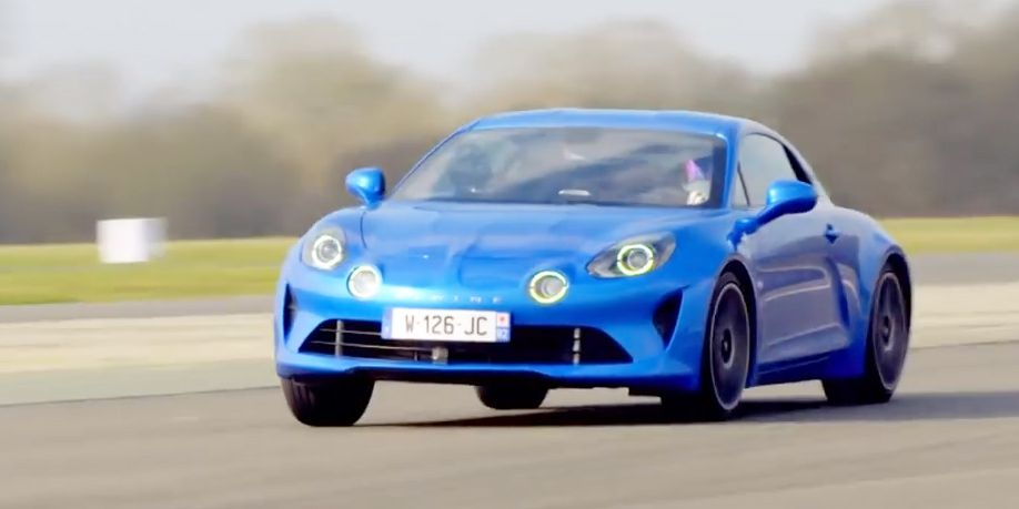 watch the alpine a110 lap the top gear test track and experience joy. Black Bedroom Furniture Sets. Home Design Ideas