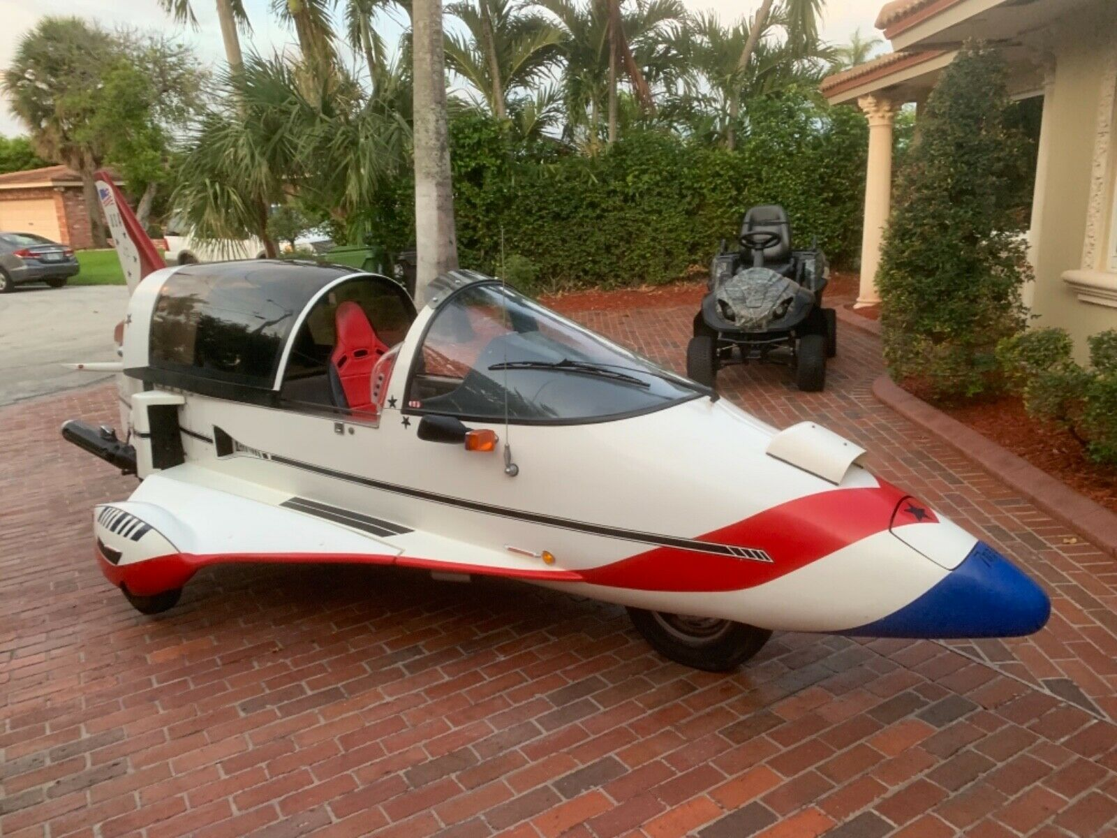 This Airplane-Shaped Car Has Four Wheels, But the Law Only Recognizes Three