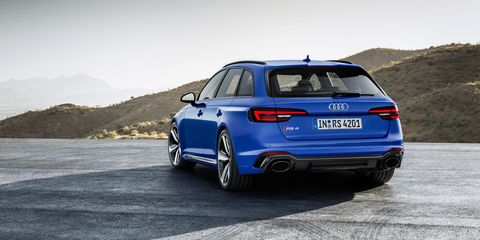 Audi RS4 Avant Pictures - New RS4 Wagon Specs