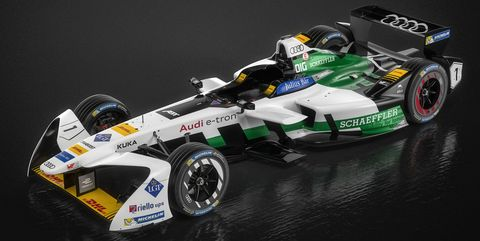 Audi e-tron FE04 Formula E race car