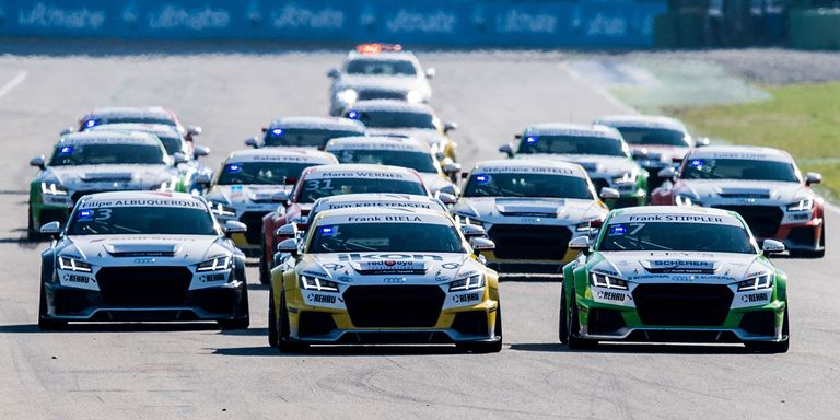 An All-Star Goodbye to the Audi TT Spec Series You Probably Didn't on vw beetle cup, clio 182 cup, opel adam cup, porsche 996 cup, renault megane cup, hudson hornet cup, audi r8 cup, porsche 911 gt3 cup, bmw compact cup, mini cup, lotus elise cup, clio 197 cup, porsche 991 cup, audi a4 cup, porsche 944 cup, toyota vios cup, mazda mx5 cup, seat leon cup, porsche 997 cup, lotus exige cup,