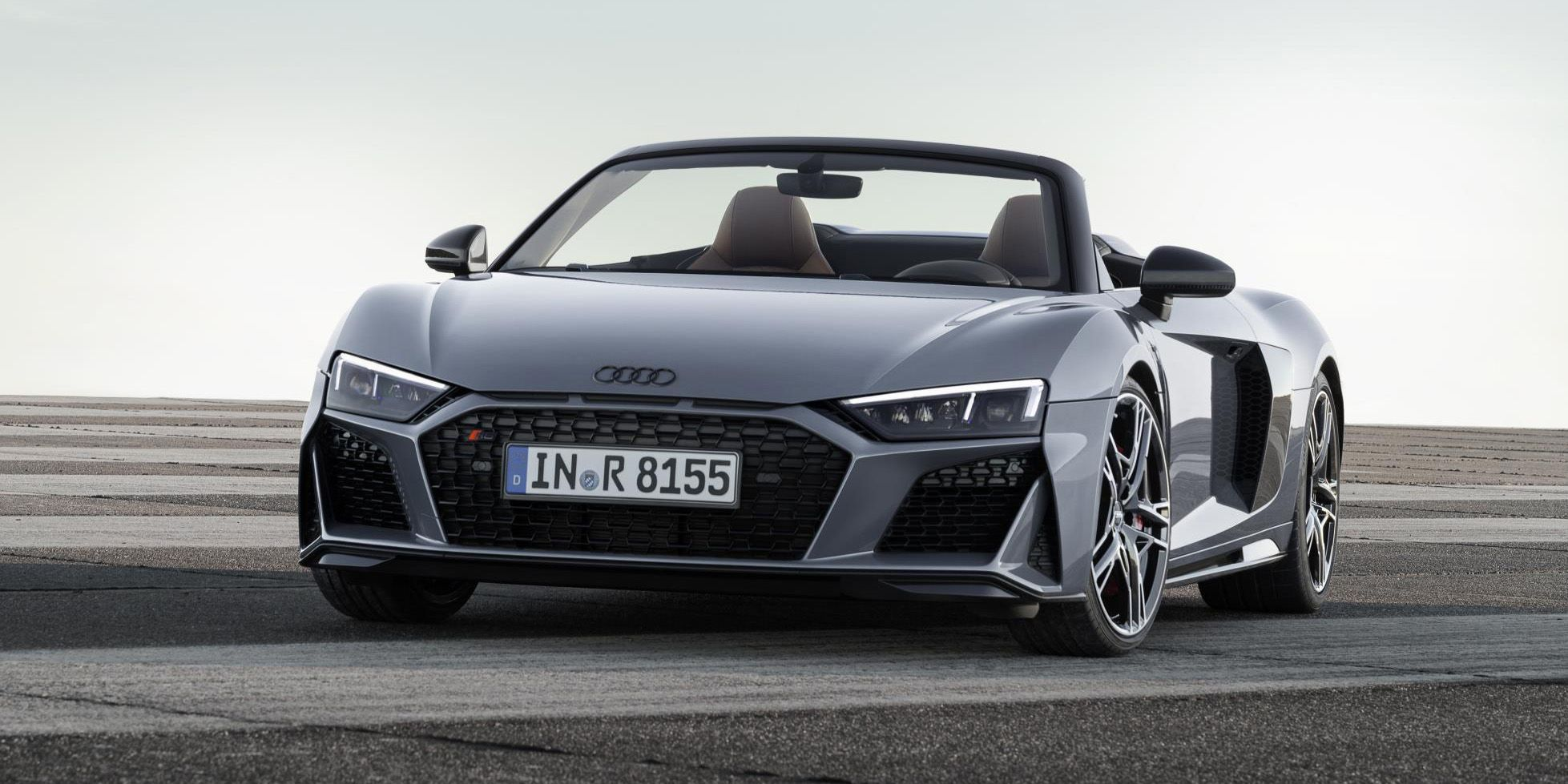 Audi Gave The R More Power And A New Nose - Audi r8