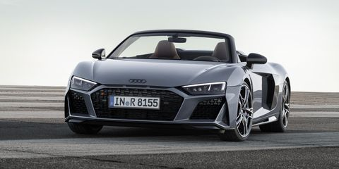 Audi Gave The 2019 R8 More Power And A New Nose