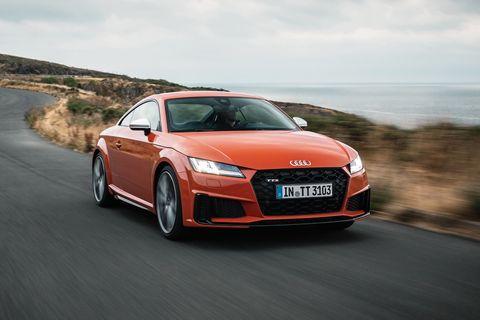 Land vehicle, Vehicle, Car, Audi, Automotive design, Sports car, Coupé, Performance car, Audi tt, Personal luxury car,
