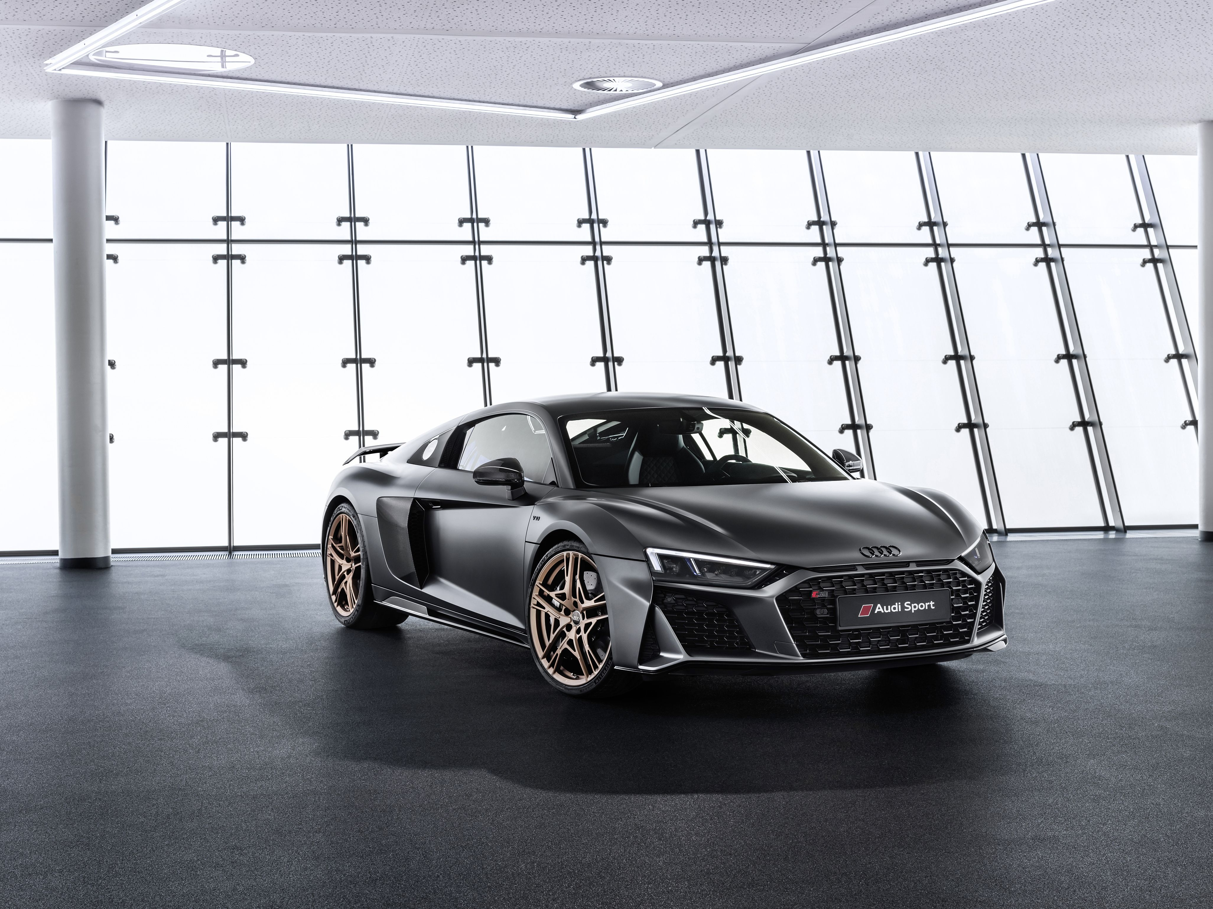 The 2020 Audi R8 Decennium Special Edition Celebrates Audi S Magnificent V 10
