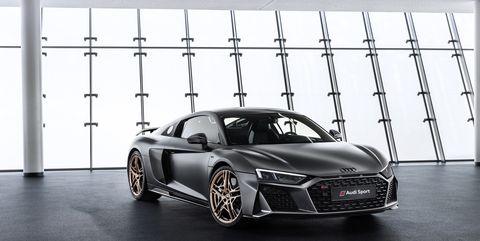 The 2020 Audi R8 Decennium Special Edition Celebrates Audis
