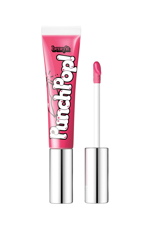 This Vivid Lip Gloss Benefit Punch Pop!