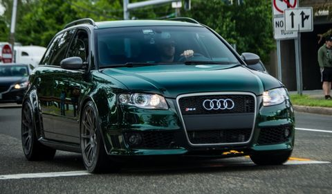 Audi RS Wagon For Sale In The US RS Avant Conversion - Audi rs4 avant for sale