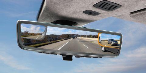 Rear-view mirror, Automotive mirror, Motor vehicle, Automotive side-view mirror, Mode of transport, Vehicle door, Auto part, Vehicle, Mirror, Windshield,