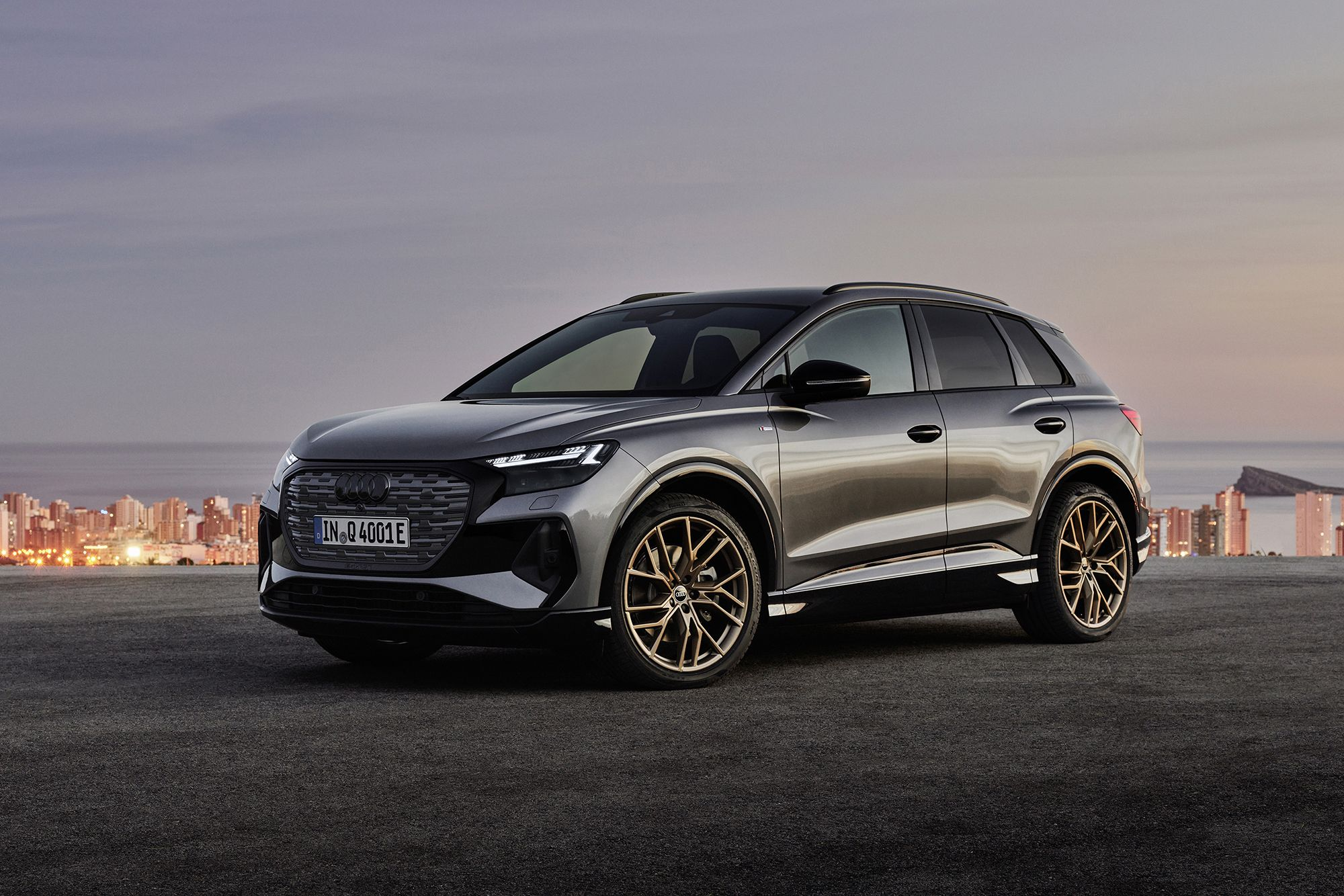 The 2022 Audi Q4 E-Tron Has a Wild Heads-Up Display and 250 Miles of Range