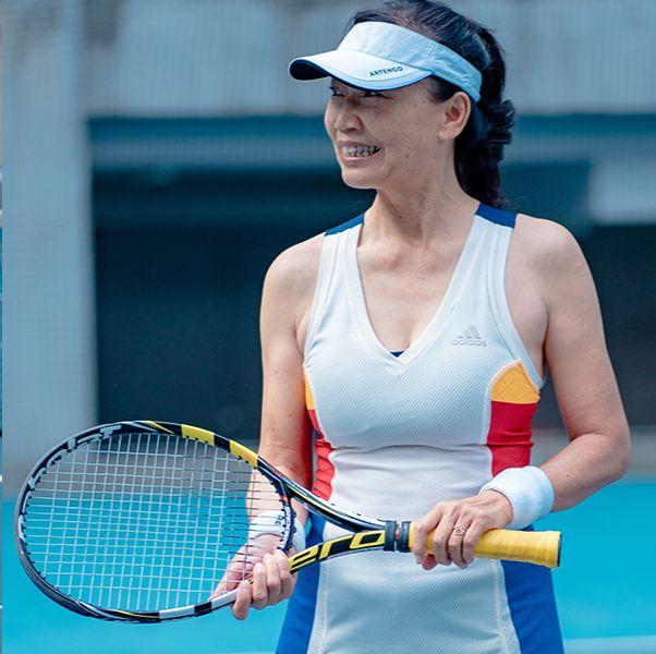 台灣網球先驅 謝麗娟