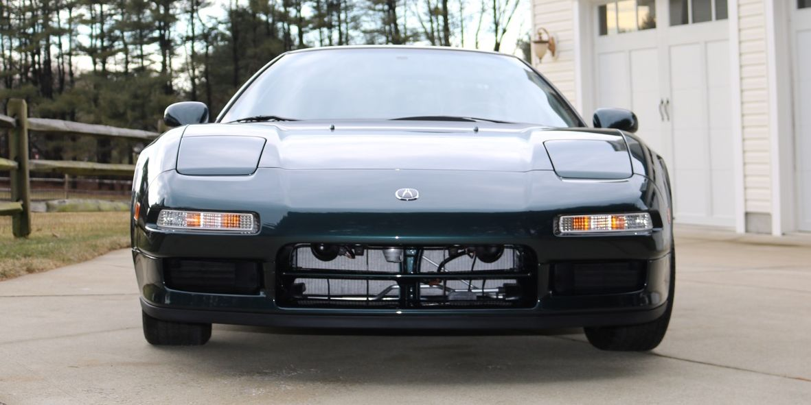 How Many Millions Will This 187-Mile Acura NSX Sell For?