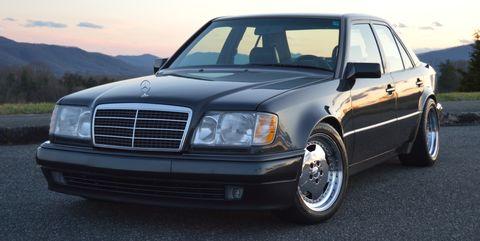 Land vehicle, Vehicle, Car, Luxury vehicle, Mercedes-benz 500e, Mercedes-benz, Grille, Mercedes-benz w124, Mercedes-benz w201, Mercedes-benz w123,