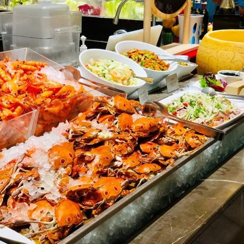 Food, Cuisine, Meal, Dish, Buffet, Ingredient, Brunch, Delicacy, Seafood, Side dish,