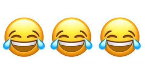 黃色笑到哭的emoji