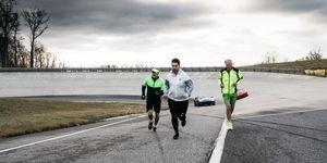 Corvette Employees Running